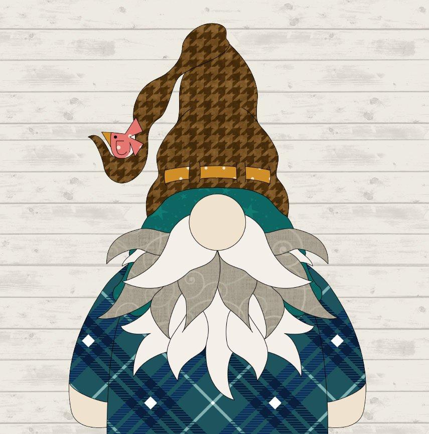 June Gnome Precut Fused Applique Pack