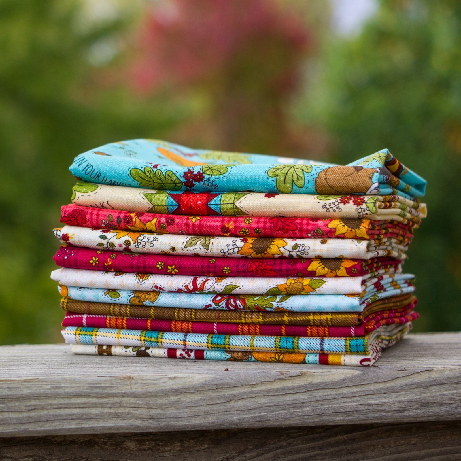 Live Within Your Harvest Fat Quarter Bundle