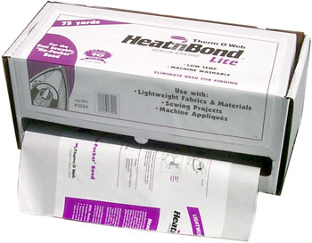 HeatnBond Lite Iron-On Adhesive Fusible (1 1/4yds x 17 wide pack)