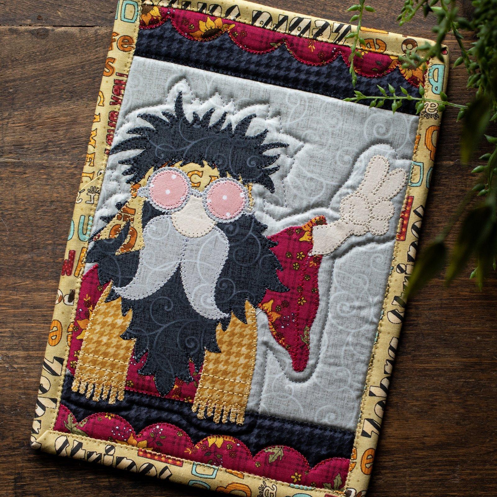 Hippie Gnome Mug Rug Kit