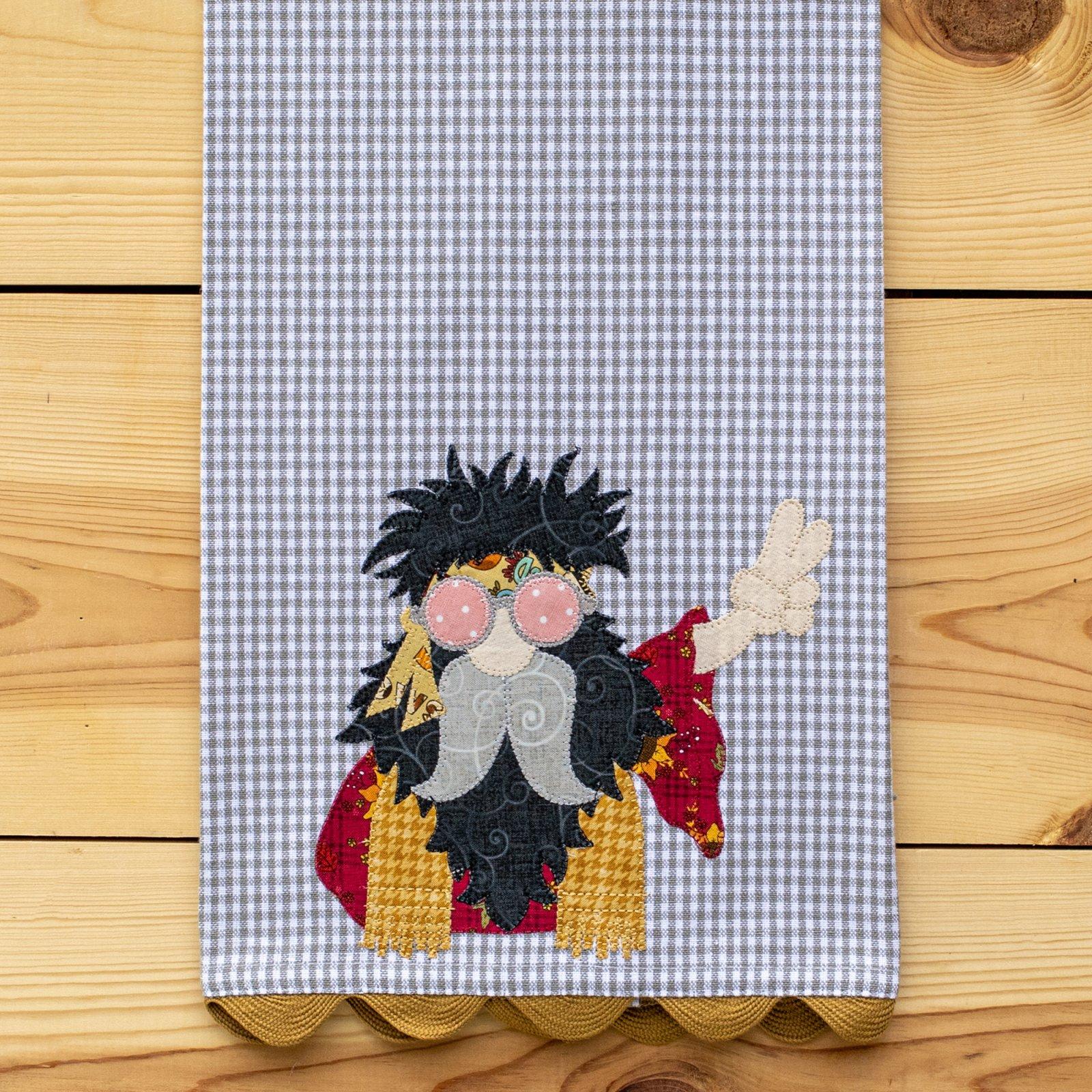 Hippie Gnome Tea Towel Kit