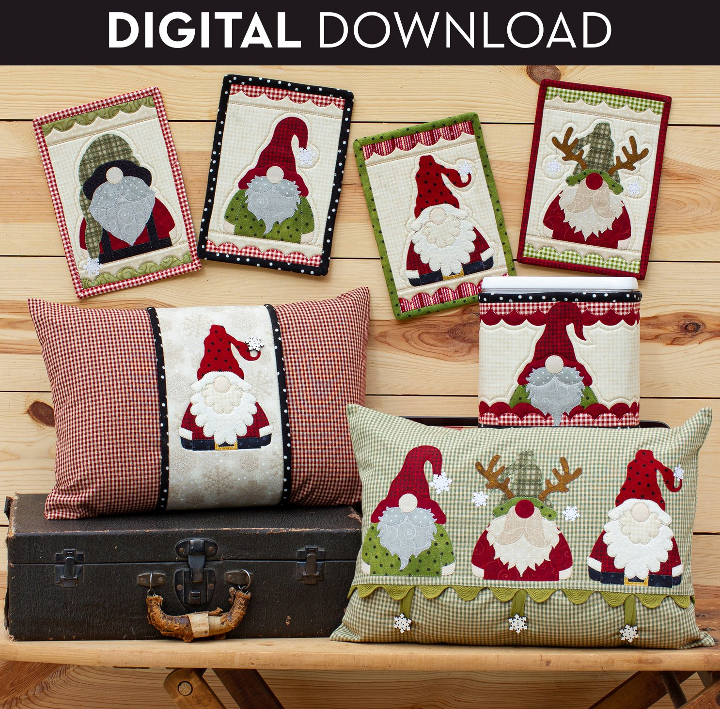 Holly Jolly Gnomes - Download