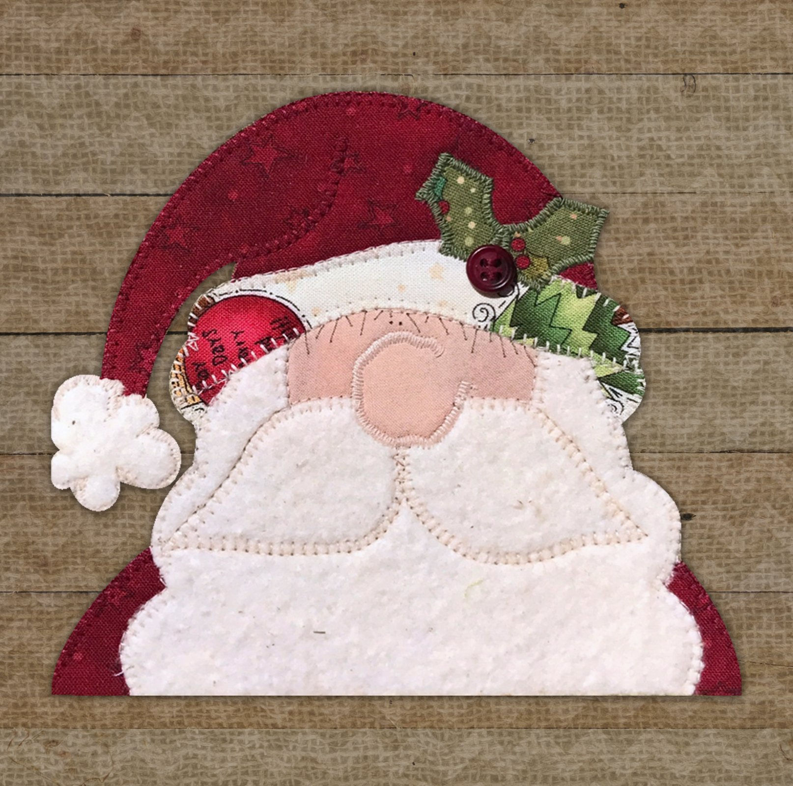 Holly Jolly Santa Precut