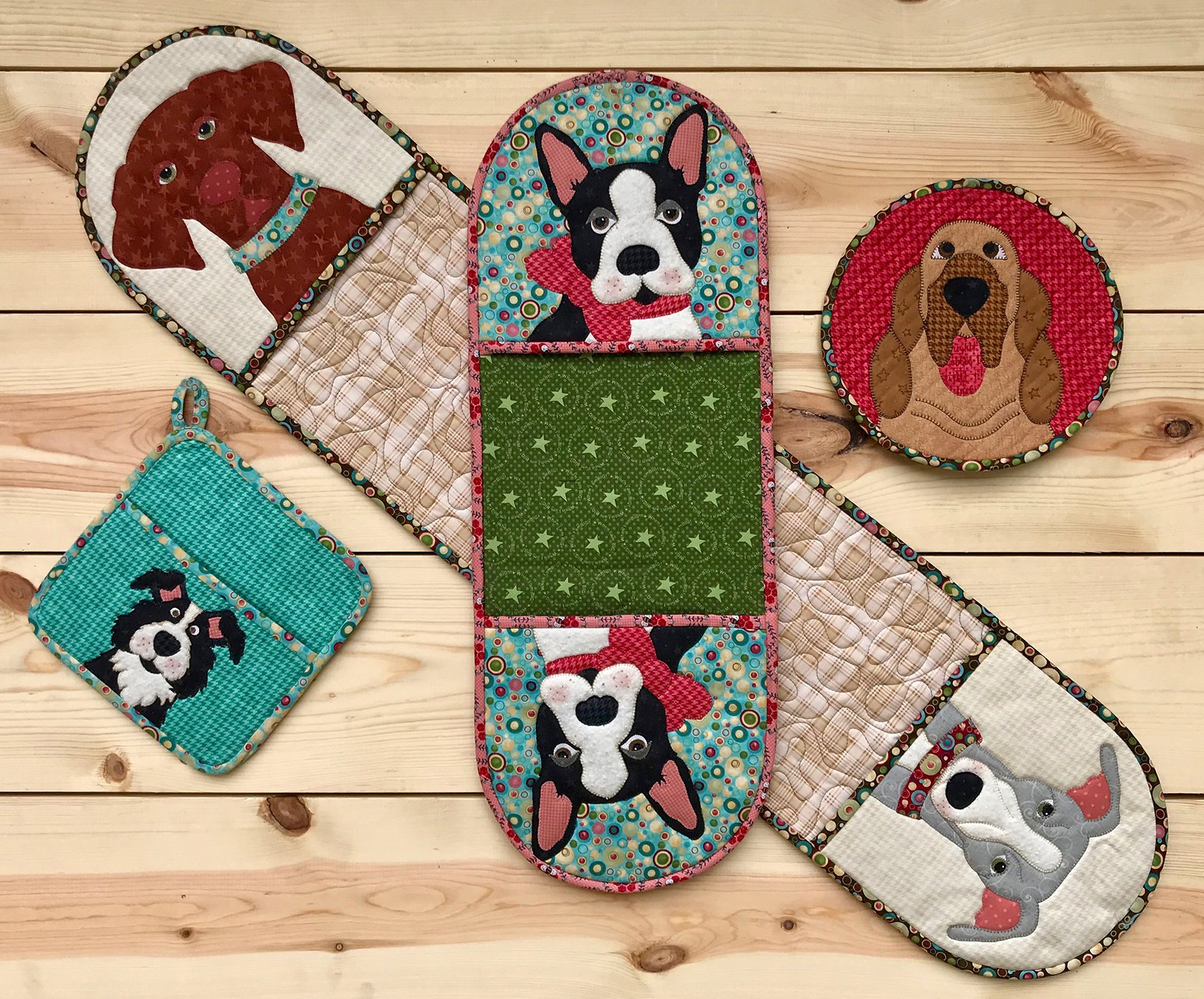Doggy Hot Pads (Appliques not included)