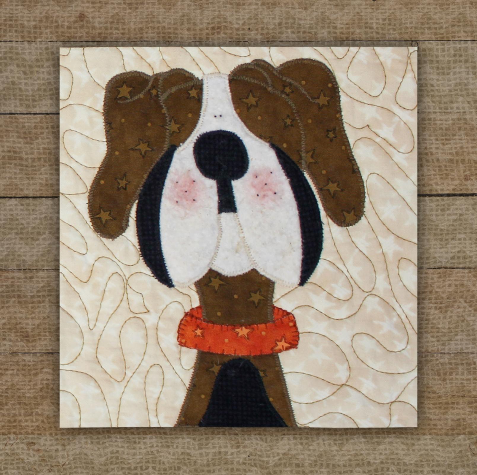 Hound Dog Precut Fused Applique Kit