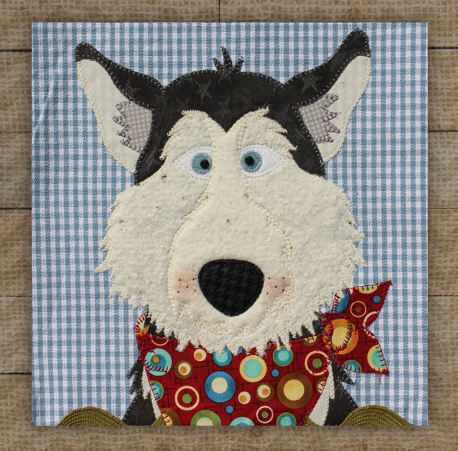 Husky Precut Fused Applique Kit