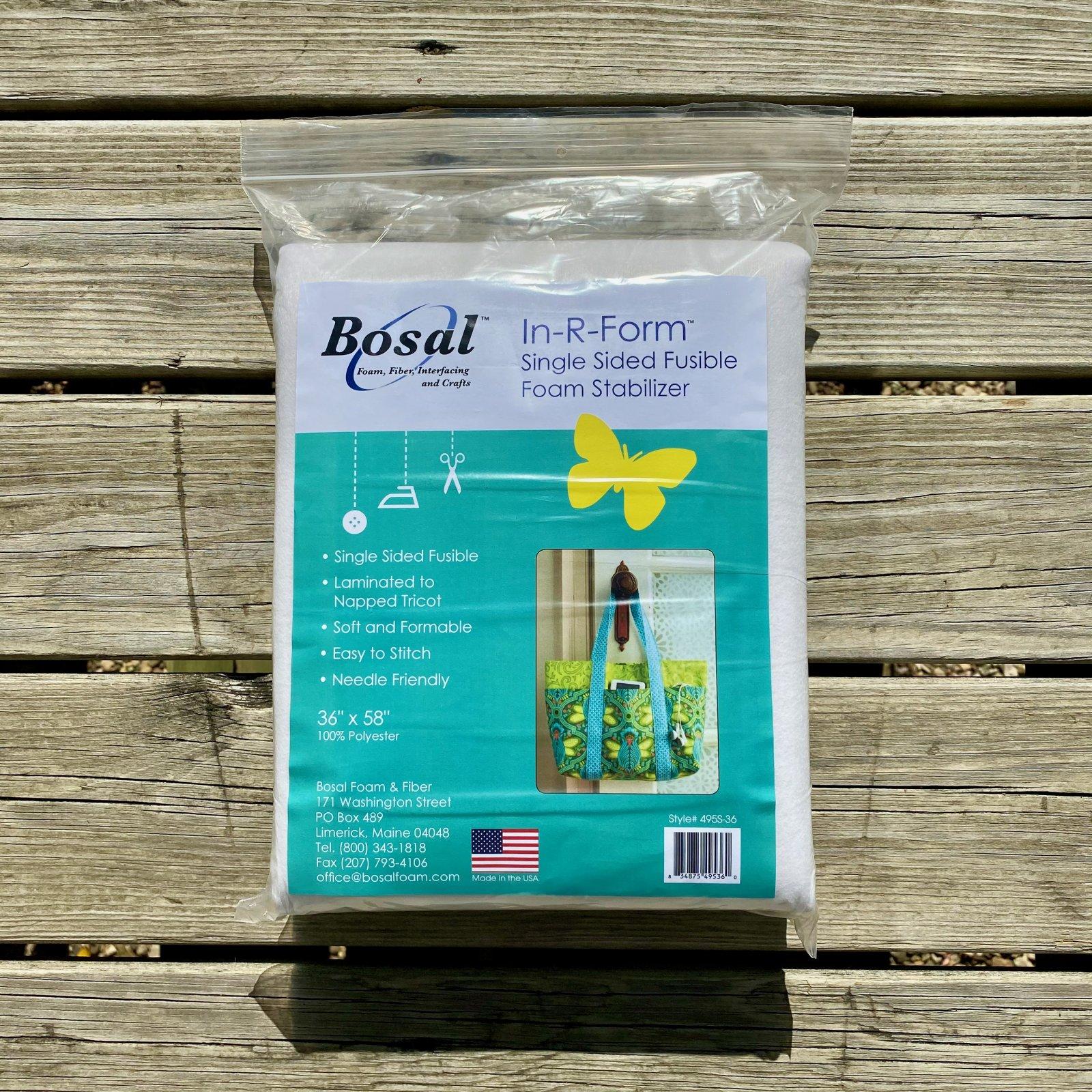 Bosal In-R-Form Plus Single Sided Fusible Foam Stabilizer (1 yd pack)