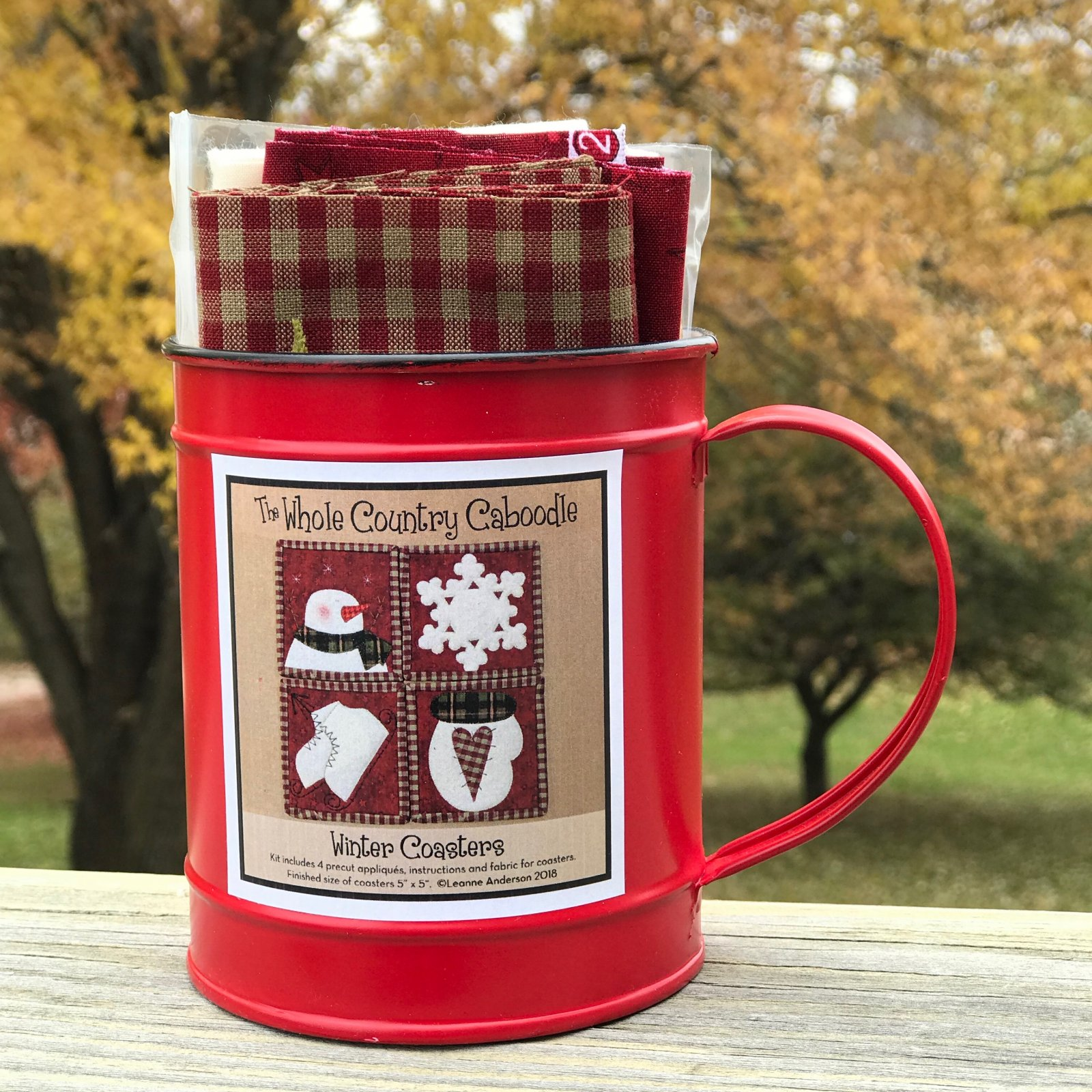 Winter Coaster Mug Kit