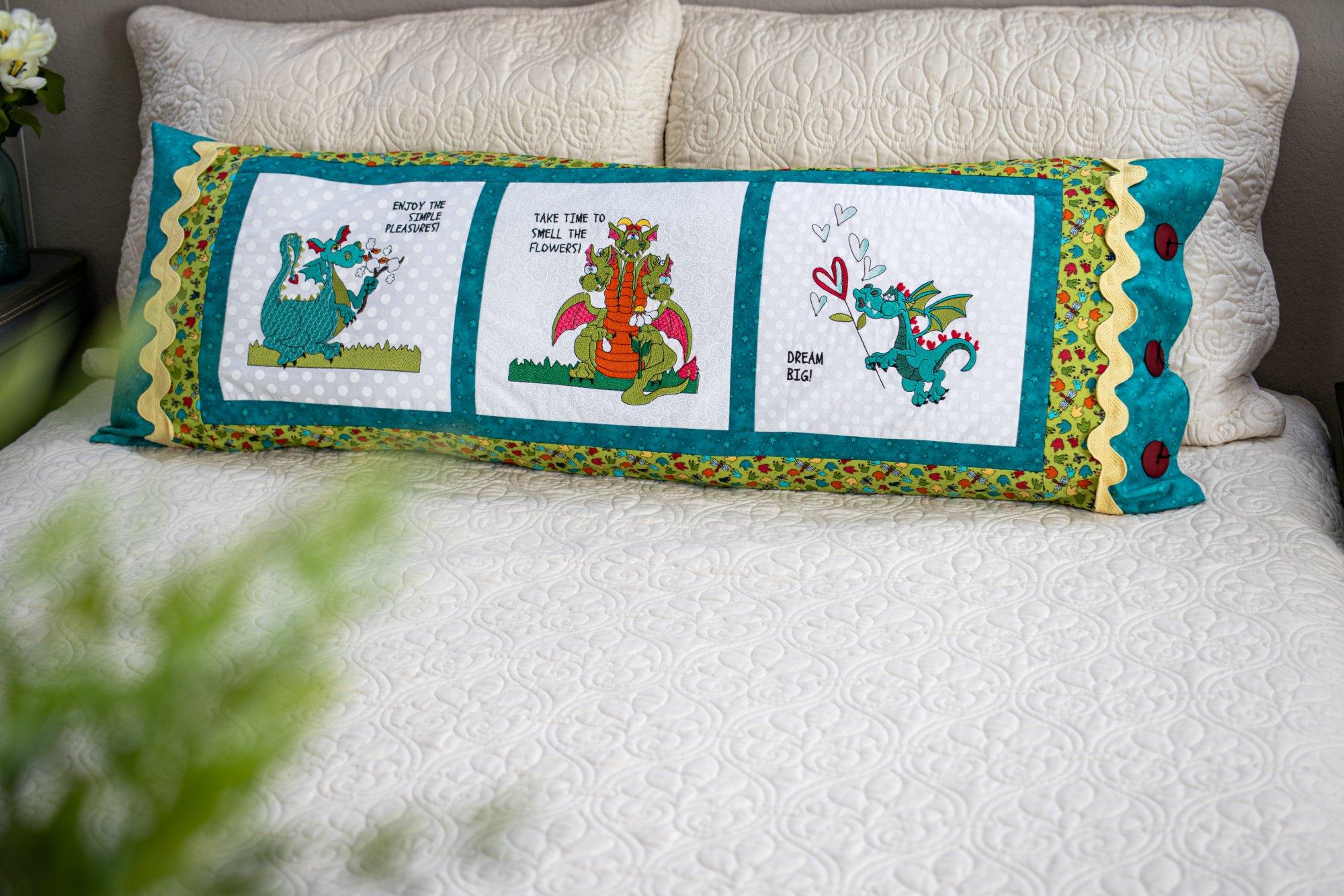 Dragon Bench Pillow - Kit