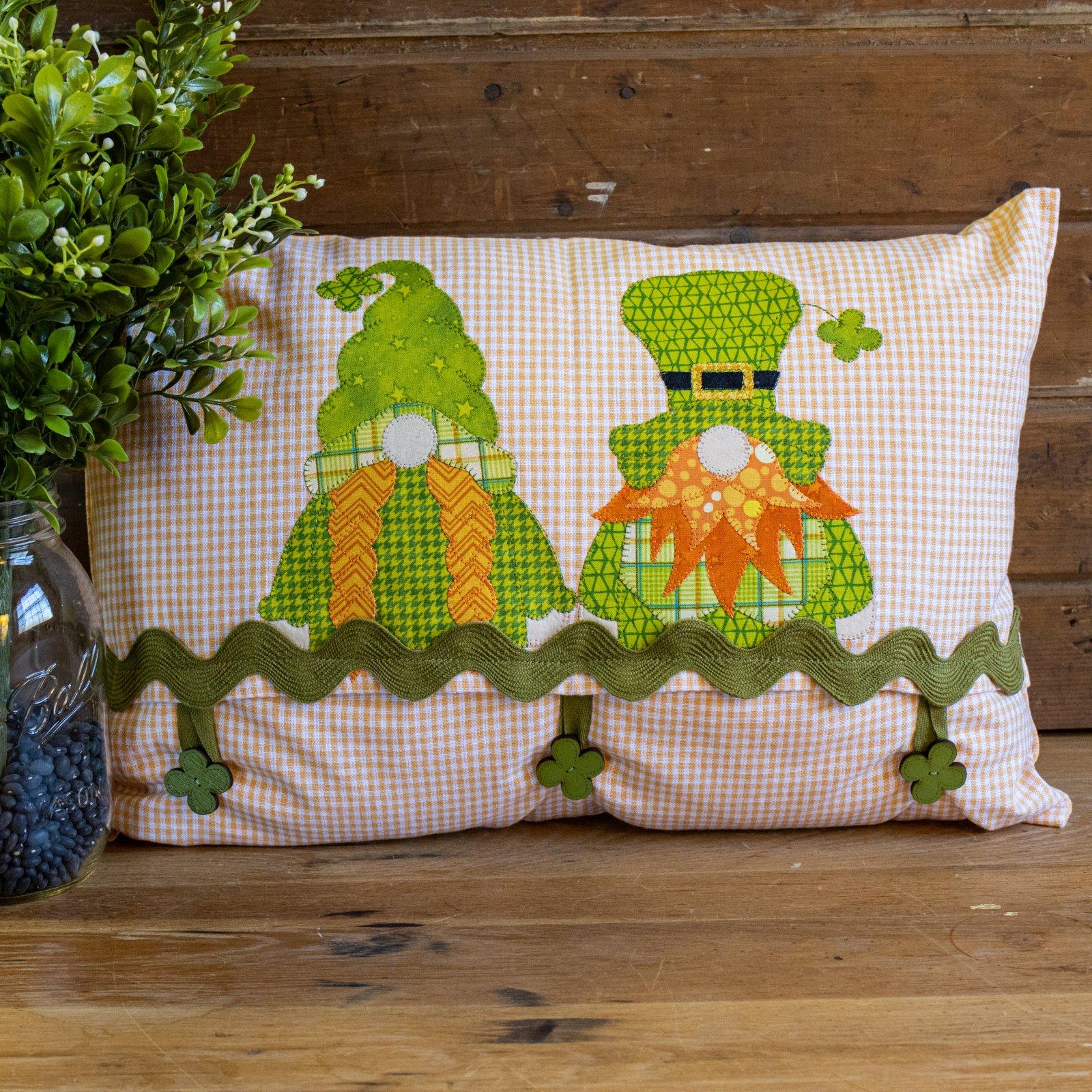 Irish Gnomes Pillow Pattern