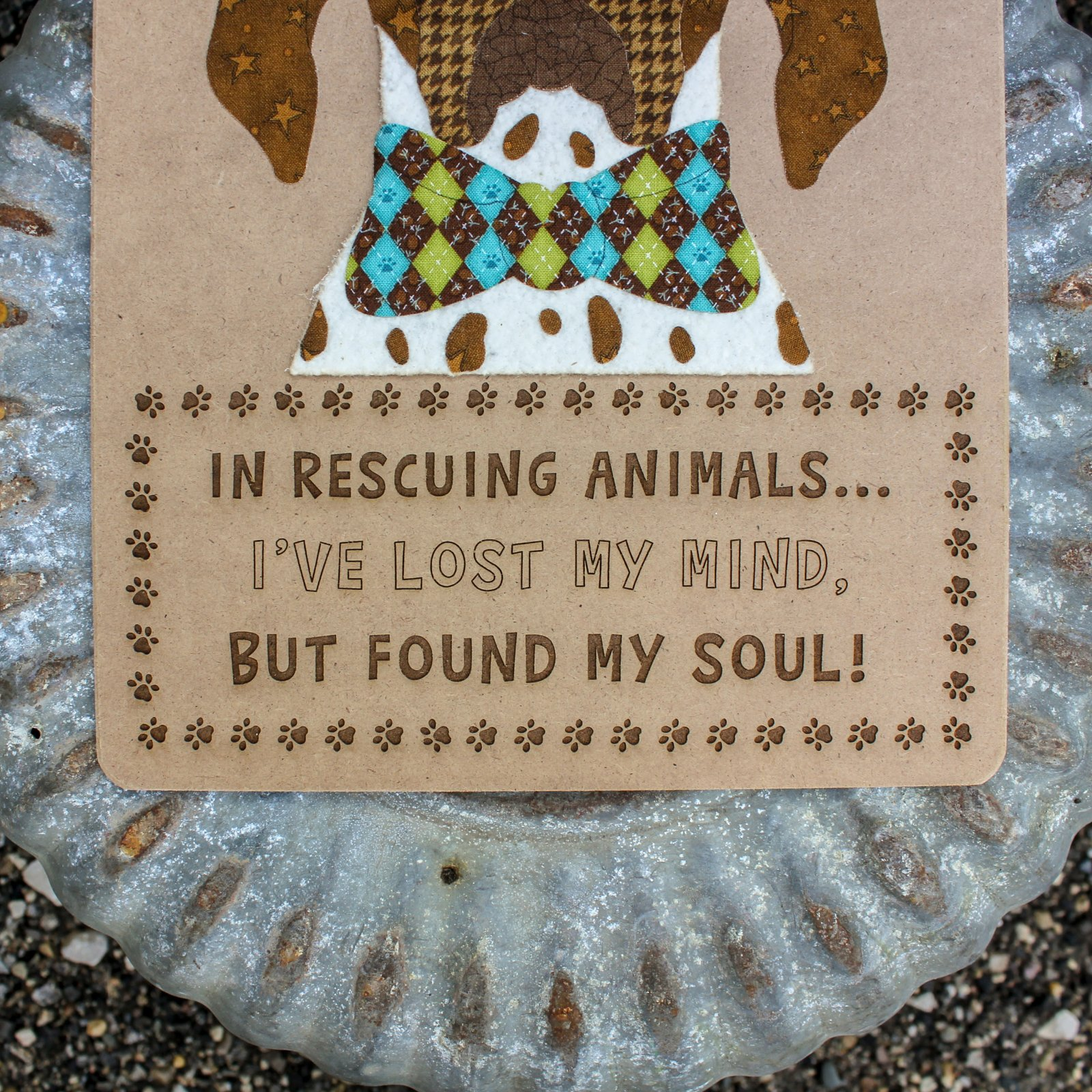 In Rescuing Animals...