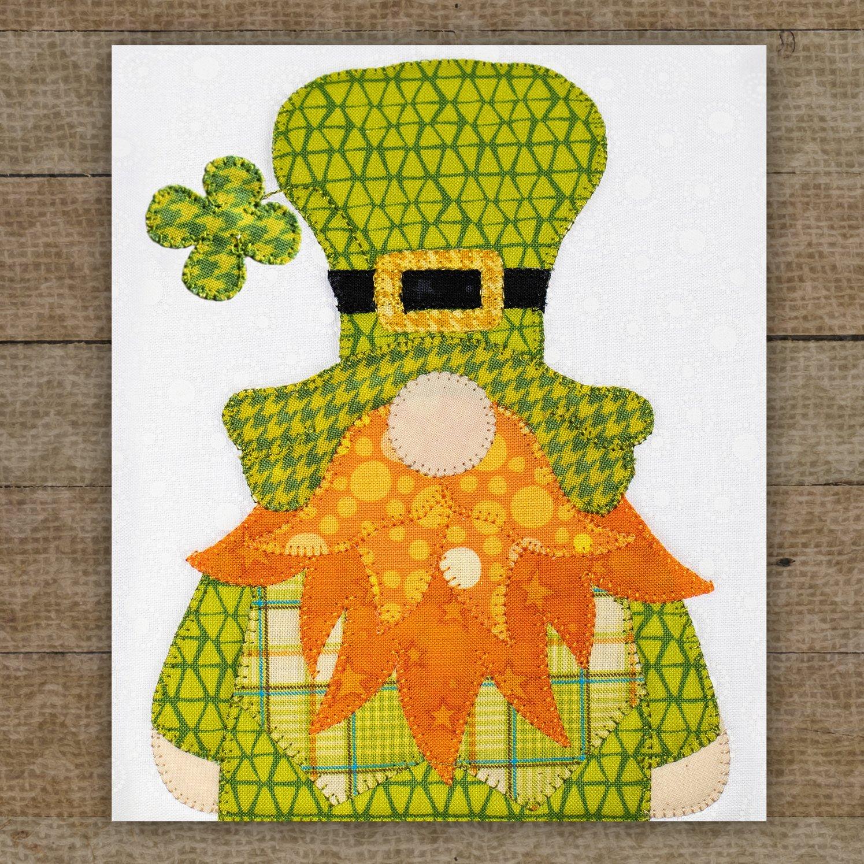 Irish Gnome Precut Fused Applique Pack