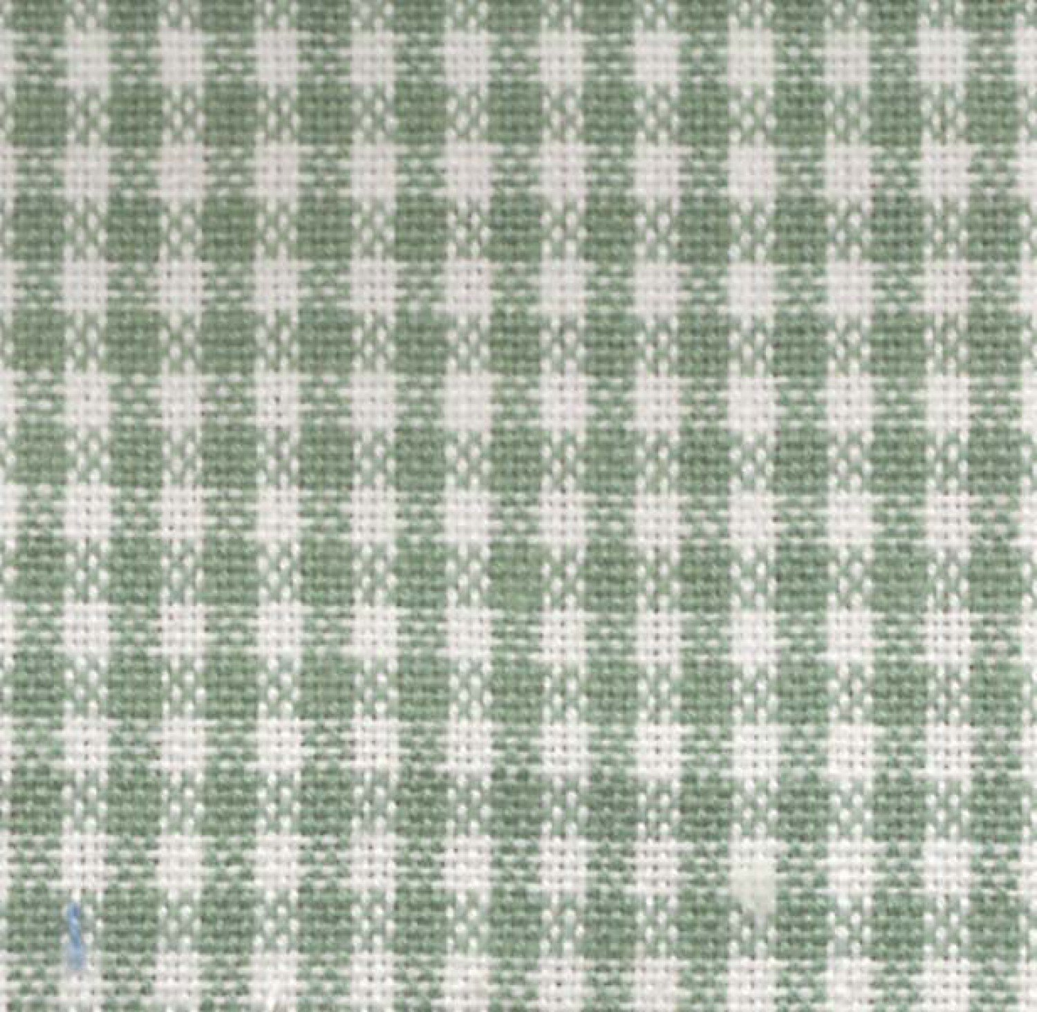 Tea Towel Mini Check Light Green/White