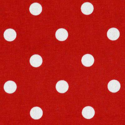 Tea Towel Polka Dot Bright Red