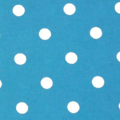 Tea Towel Polka Dots Turquoise