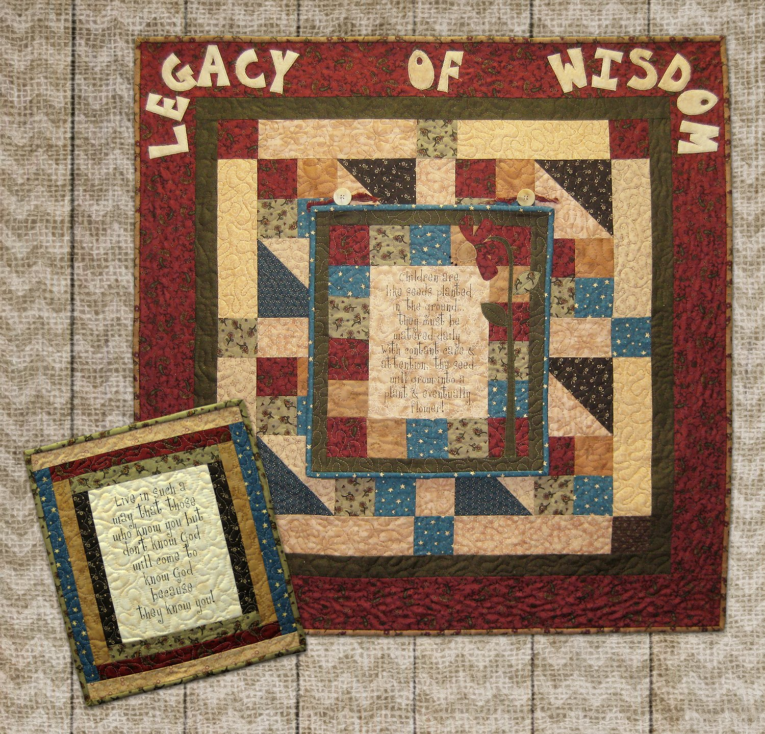 Legacy of Wisdom Base Quilt Kit
