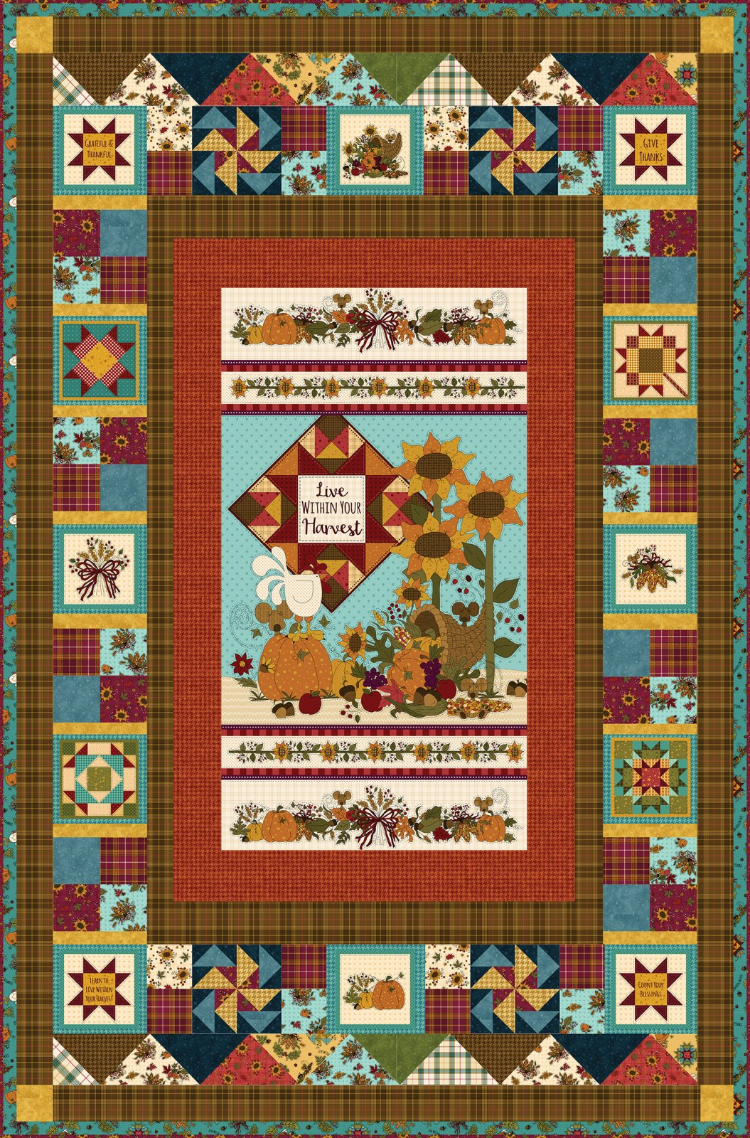 Live Within Your Harvest #1 Quilt Kit