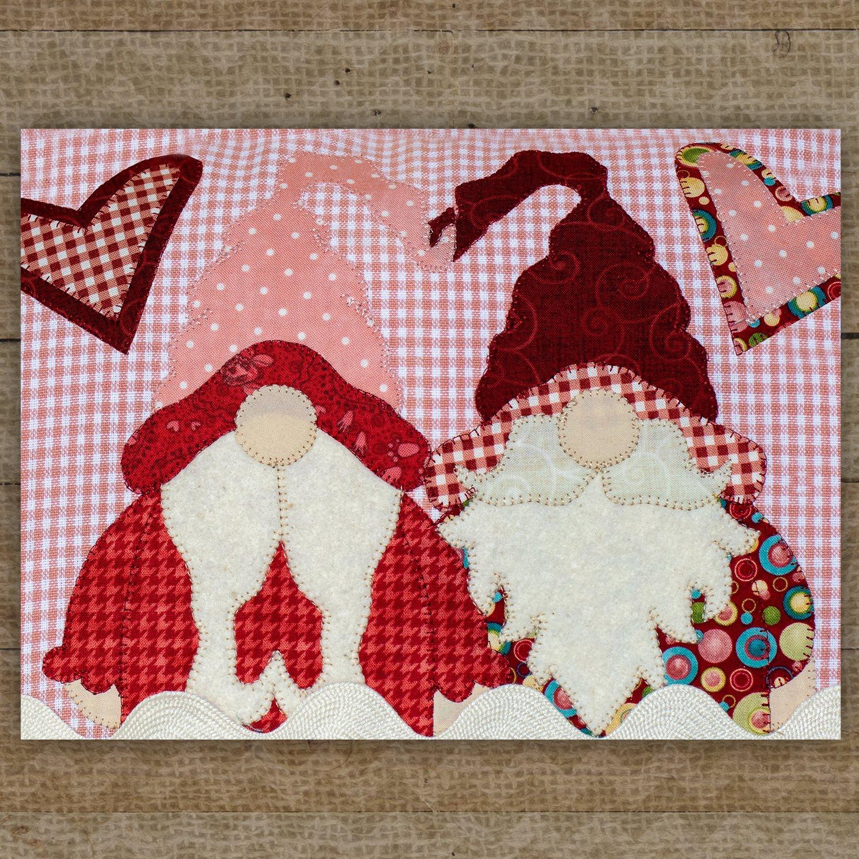 Love Gnomes Precut Fused Applique Pack