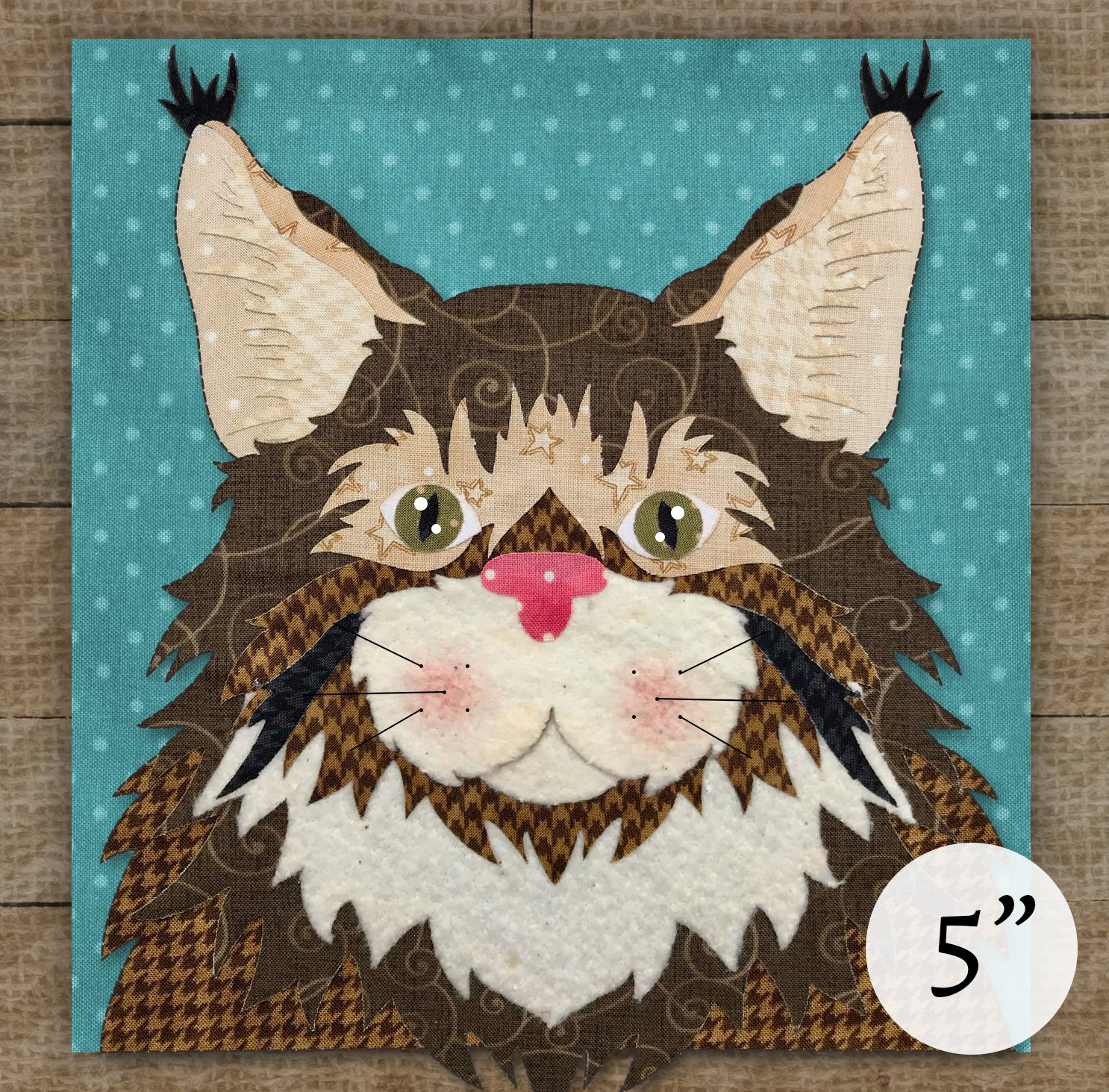 Maine Coon Cat - Pattern