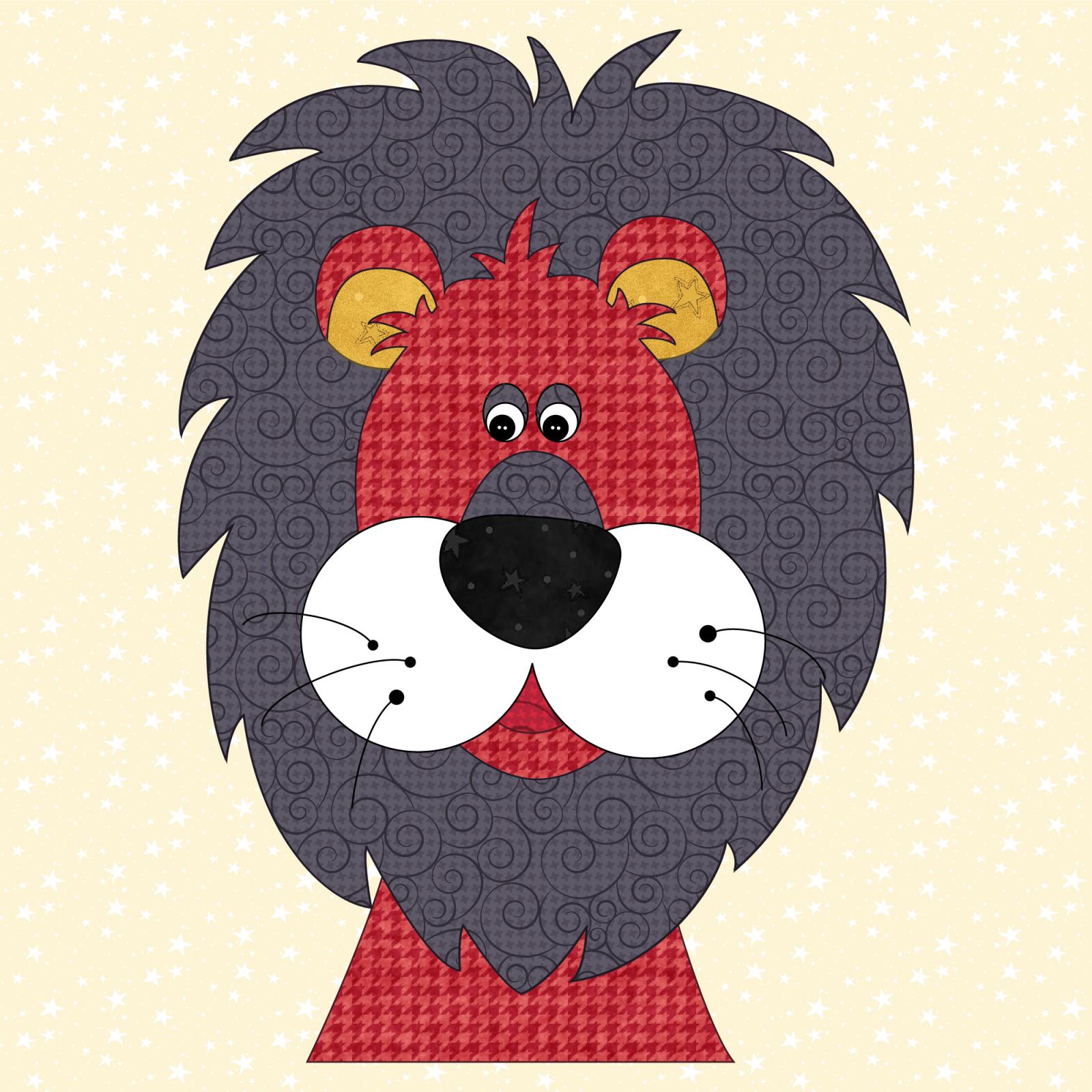 Lion Precut Prefused Applique Kit
