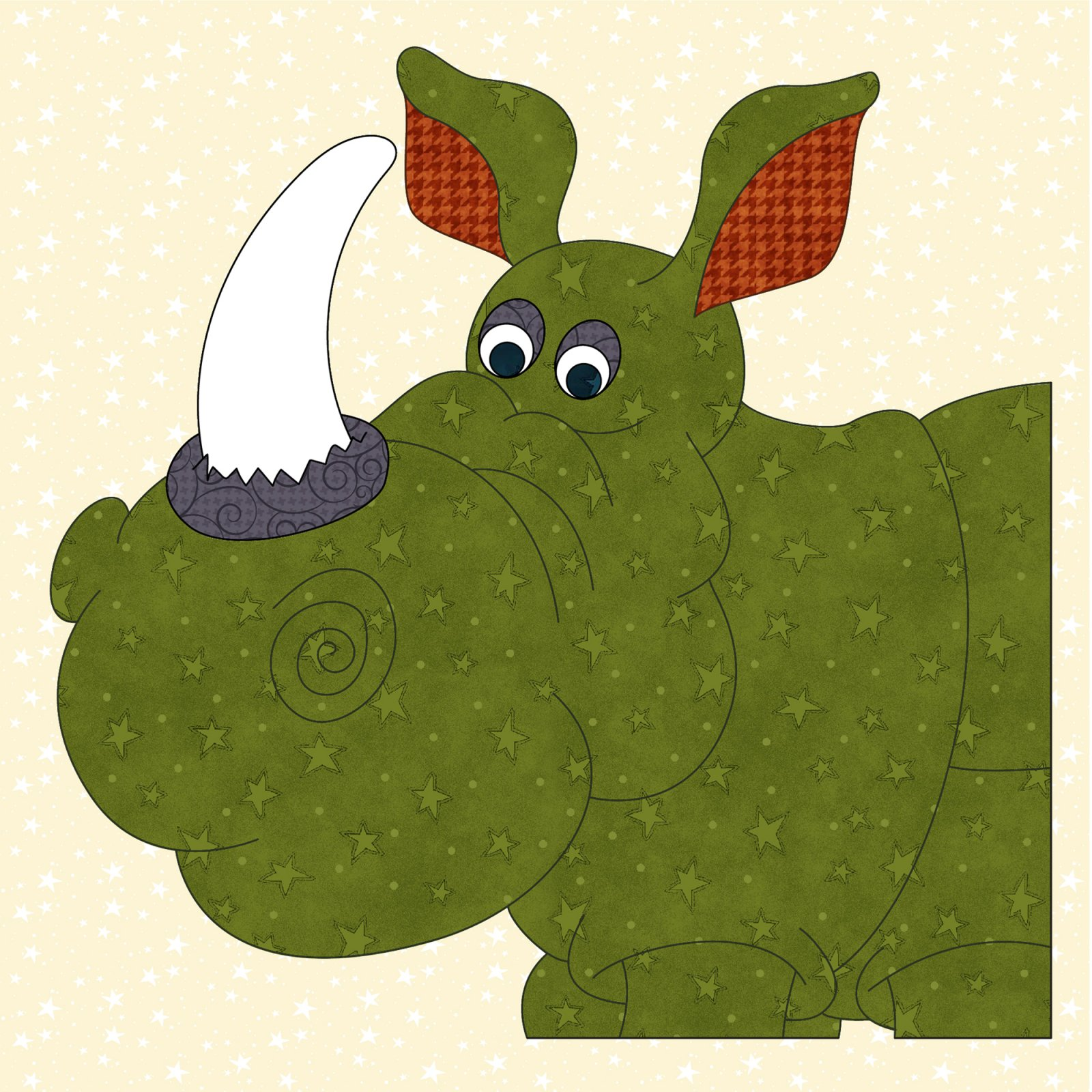 Rhino Precut Prefused Applique Kit