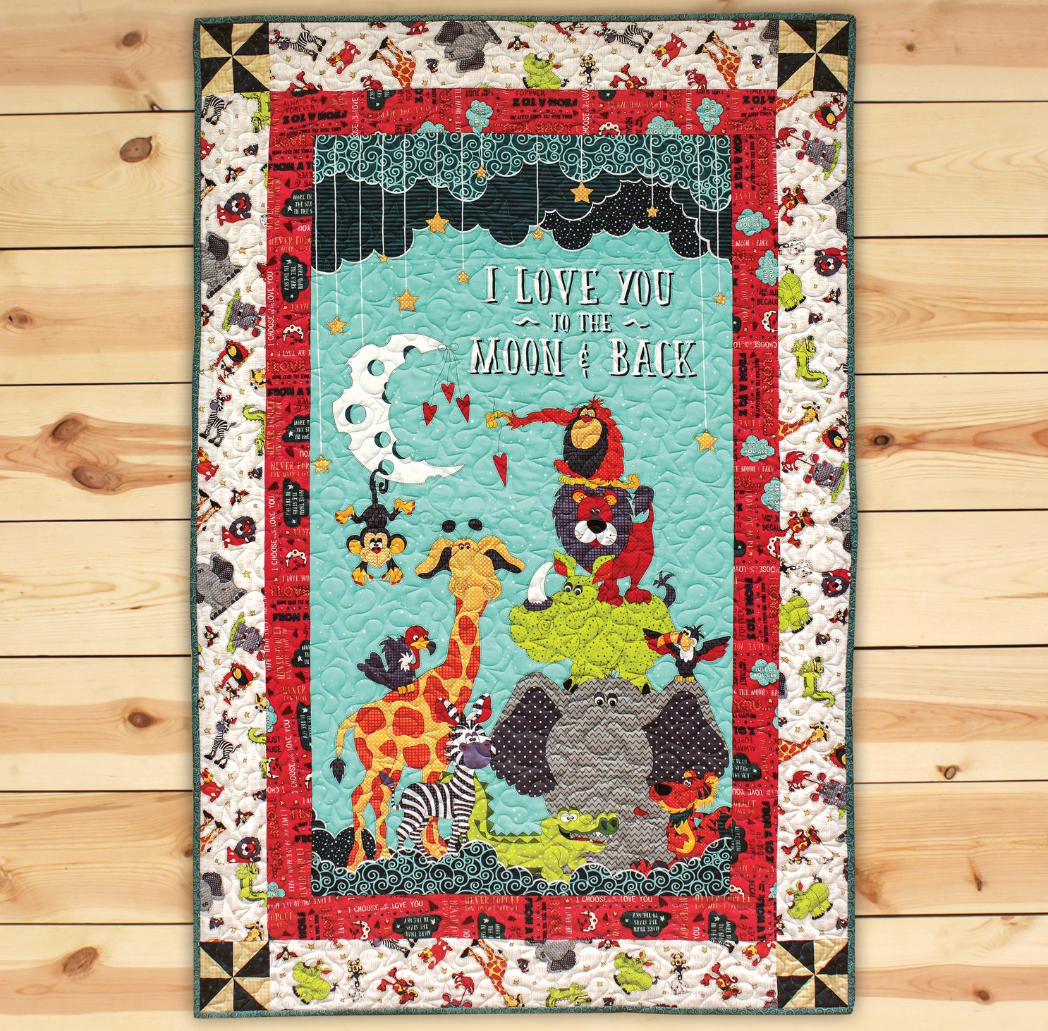 Moon & Back Panel Quilt