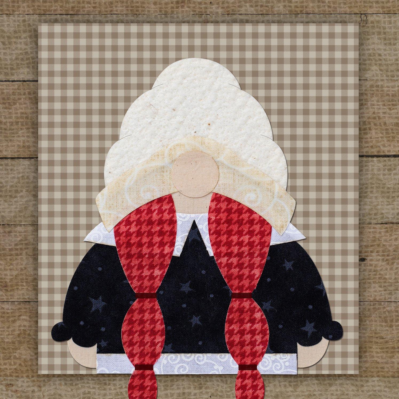Mrs. Pilgrim Gnome Precut Fused Applique Pack