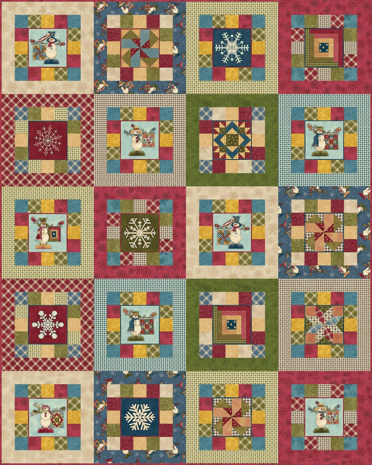My Precious Quilt - Block Quilt Kit