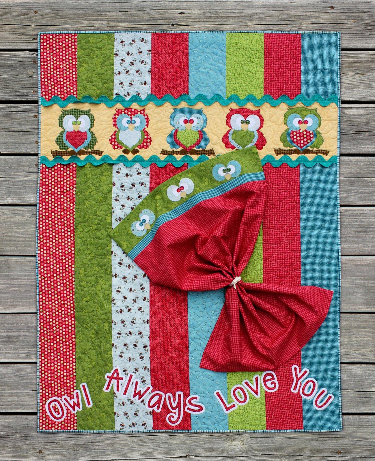 Owl Always Love You Precut Applique Pack