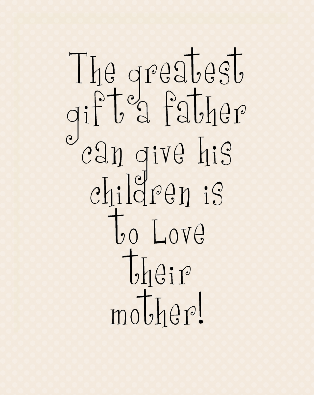 P-11: The greatest gift...