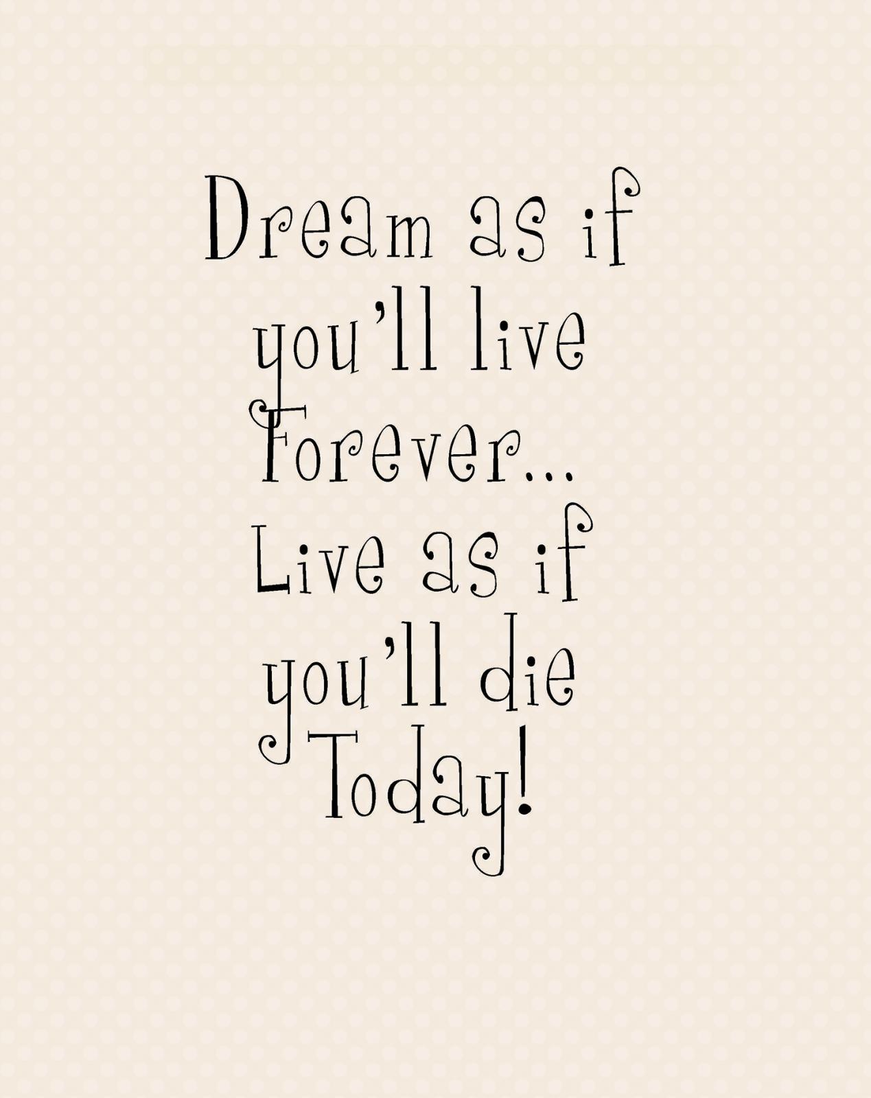 P-4: Dream as if...