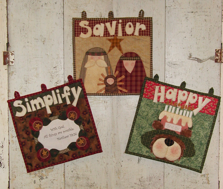 Simplify Savior & Happy Birthday Button-Ons