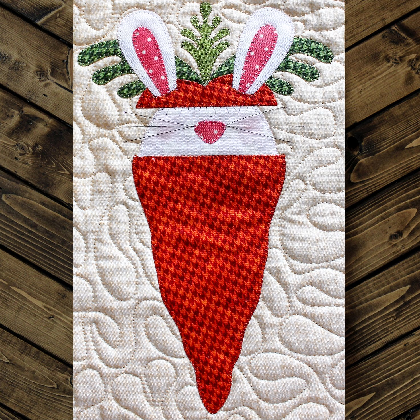 Peek-A-Boo Bunny Precut Fused Applique Pack