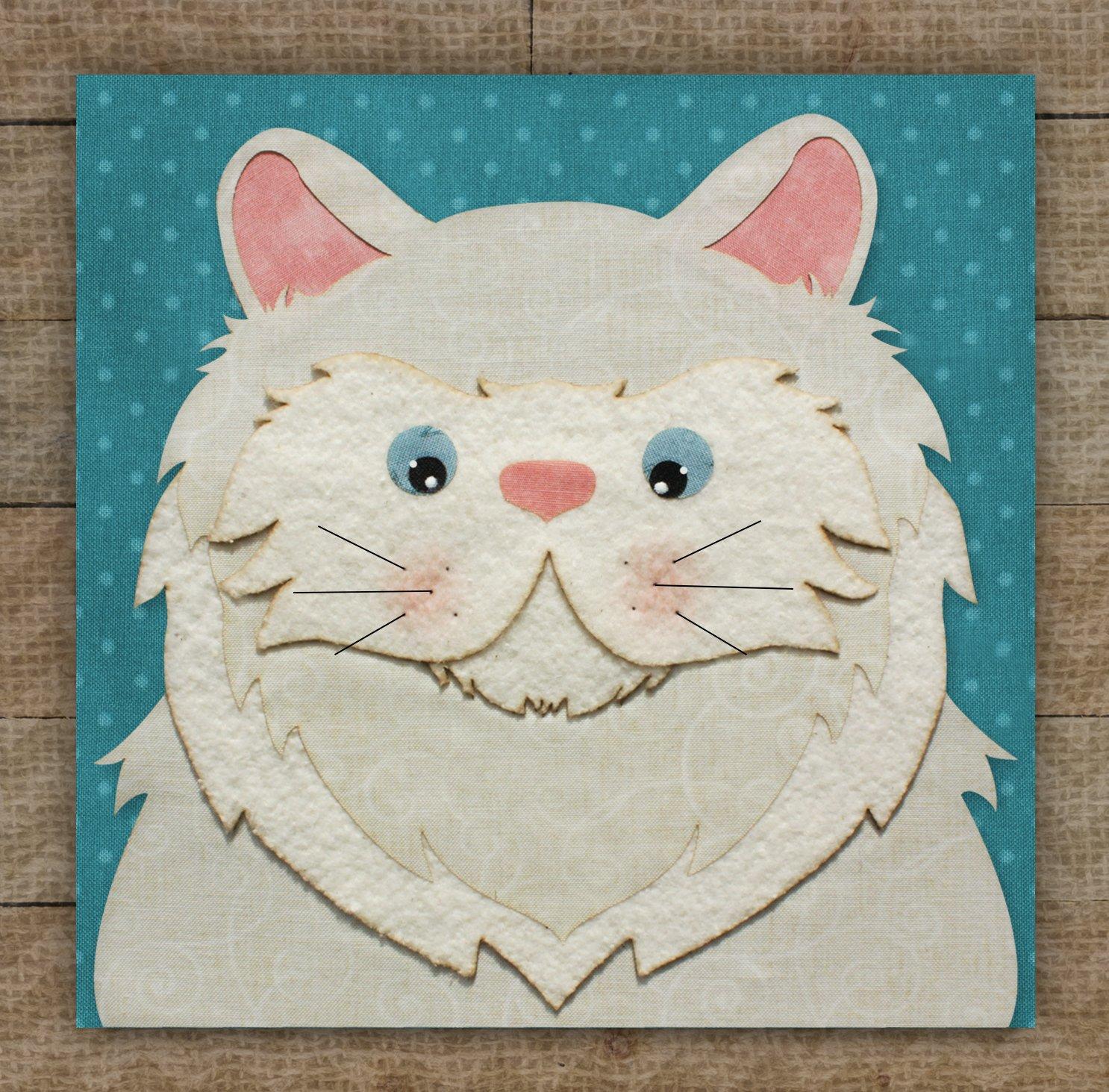Persian Cat 2 - Pattern