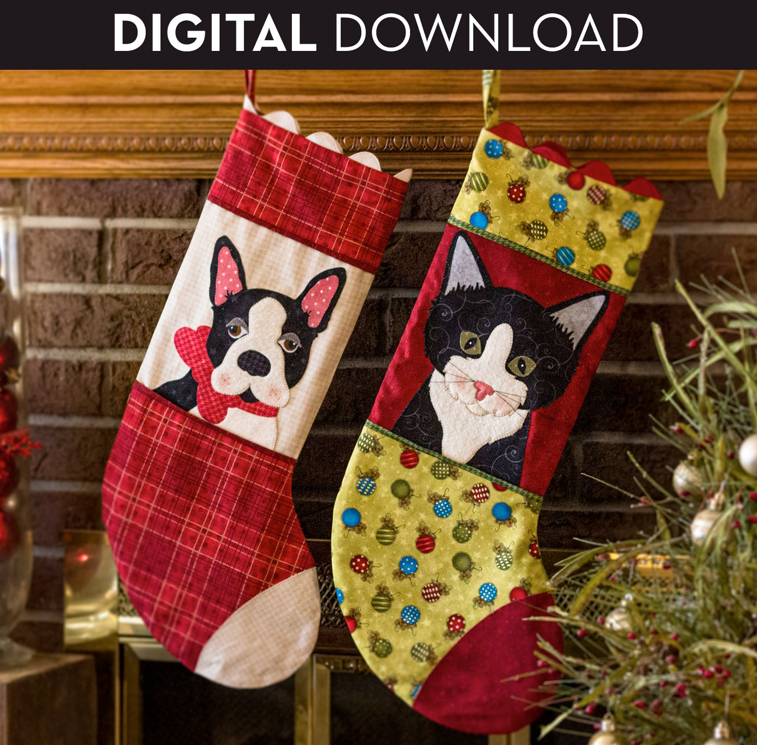 Pet Christmas Stocking - Download