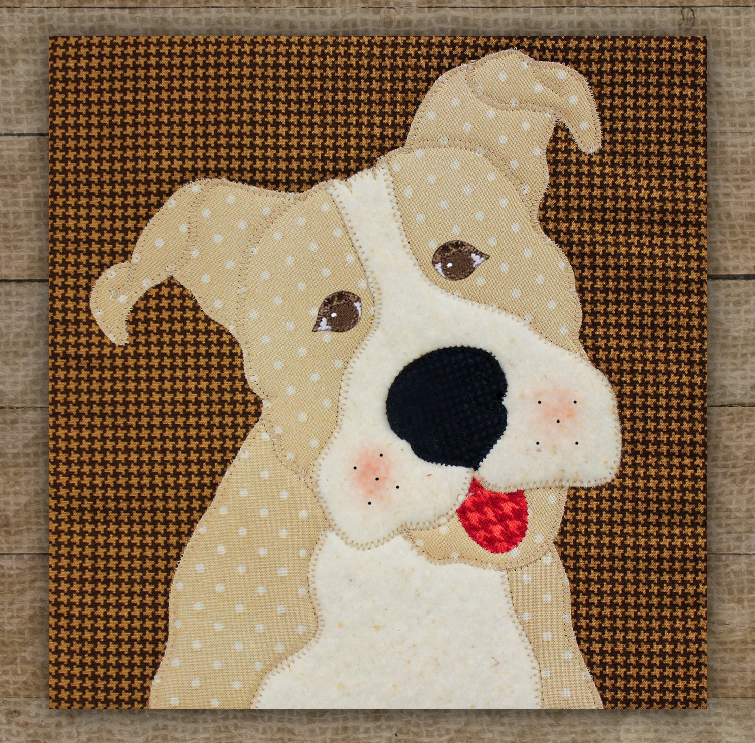Pit Bull Precut Fused Applique Kit