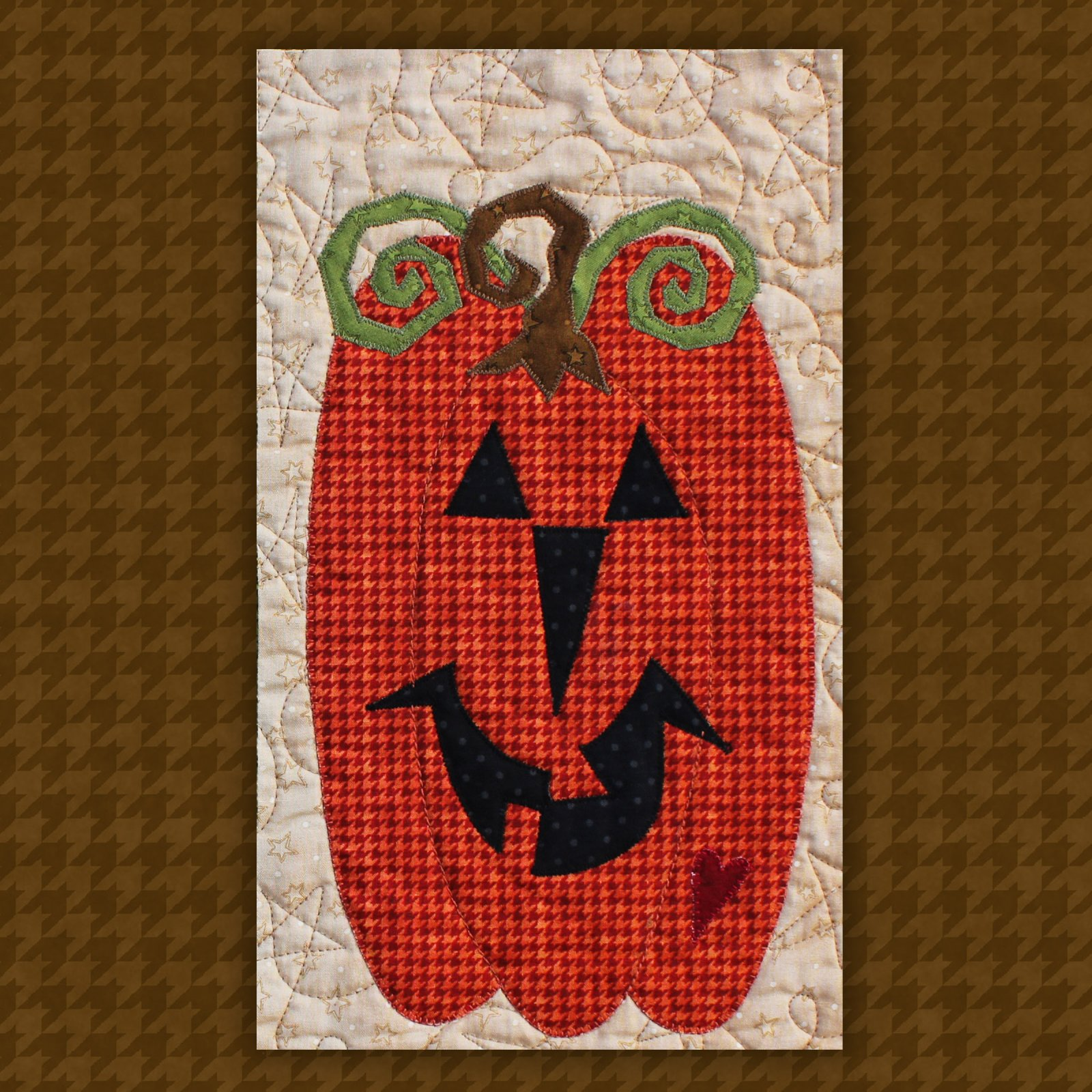 Pumpkin Precut Fused Applique Kit
