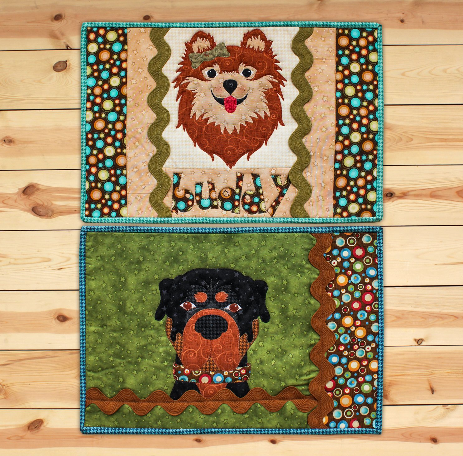 Puppy Placemats (Appliques not included)