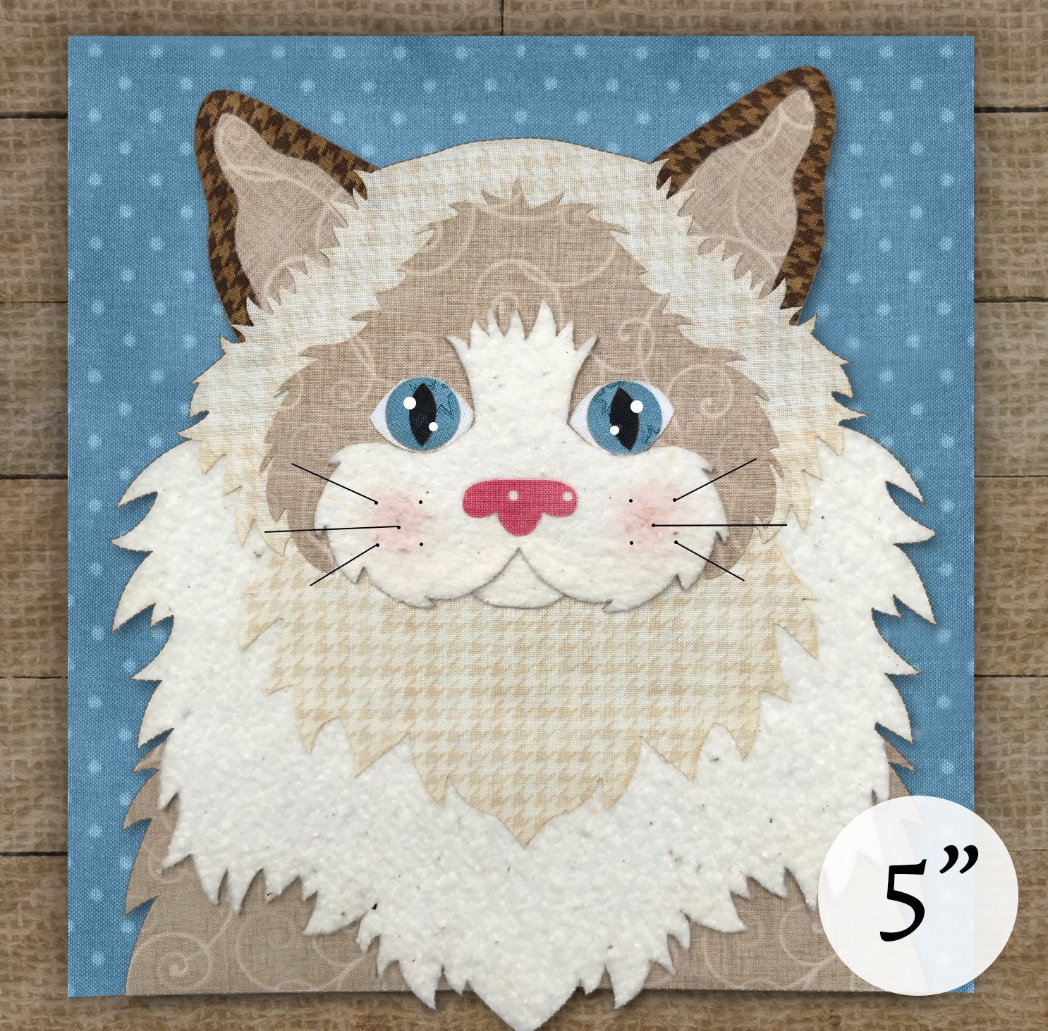 Ragdoll Cat - Pattern