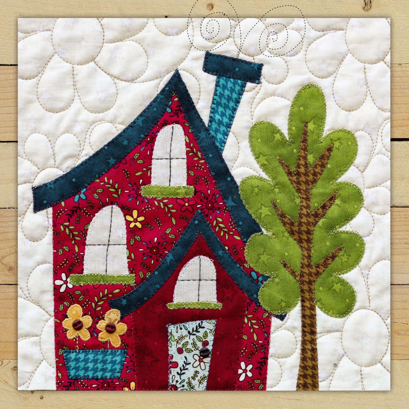 Red House Precut Fused Applique Kit