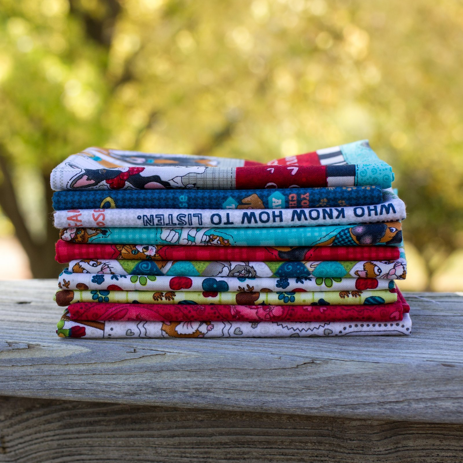 Rescued & Loved Fat Quarter Bundle