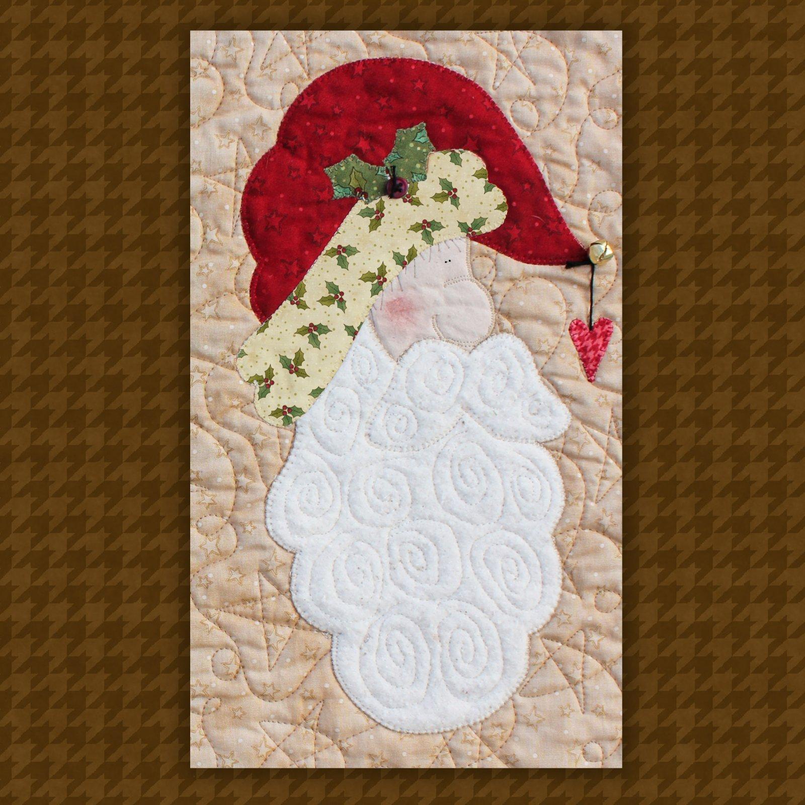 Santa Precut Fused Applique Kit