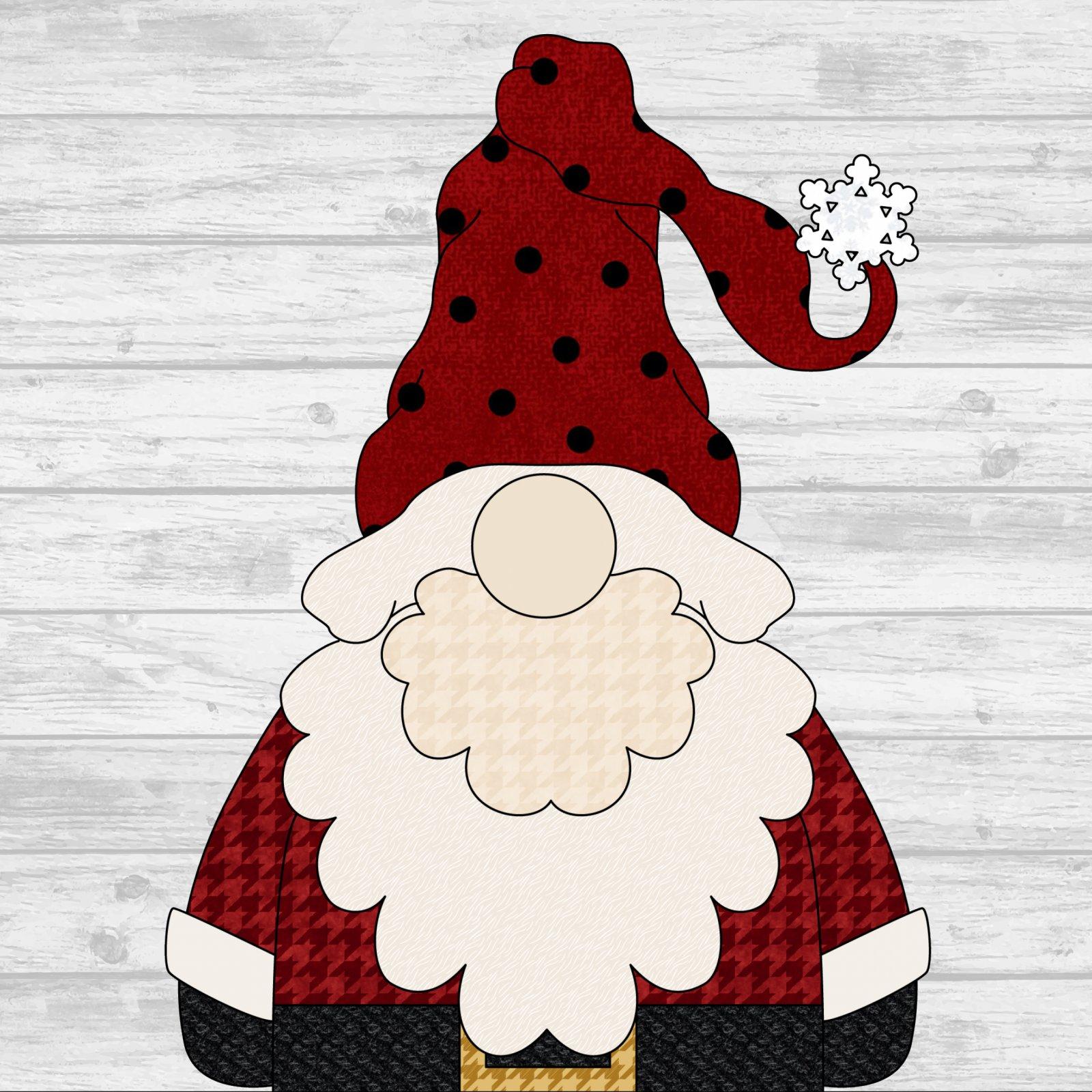 Santa Gnome - Pattern