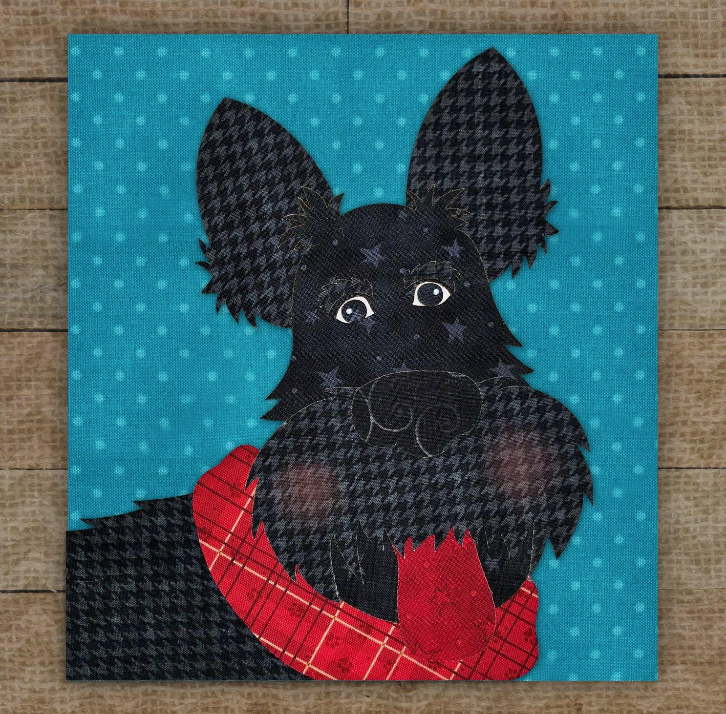 Scottish Terrier / Wheaten Scottish Terrier - Pattern