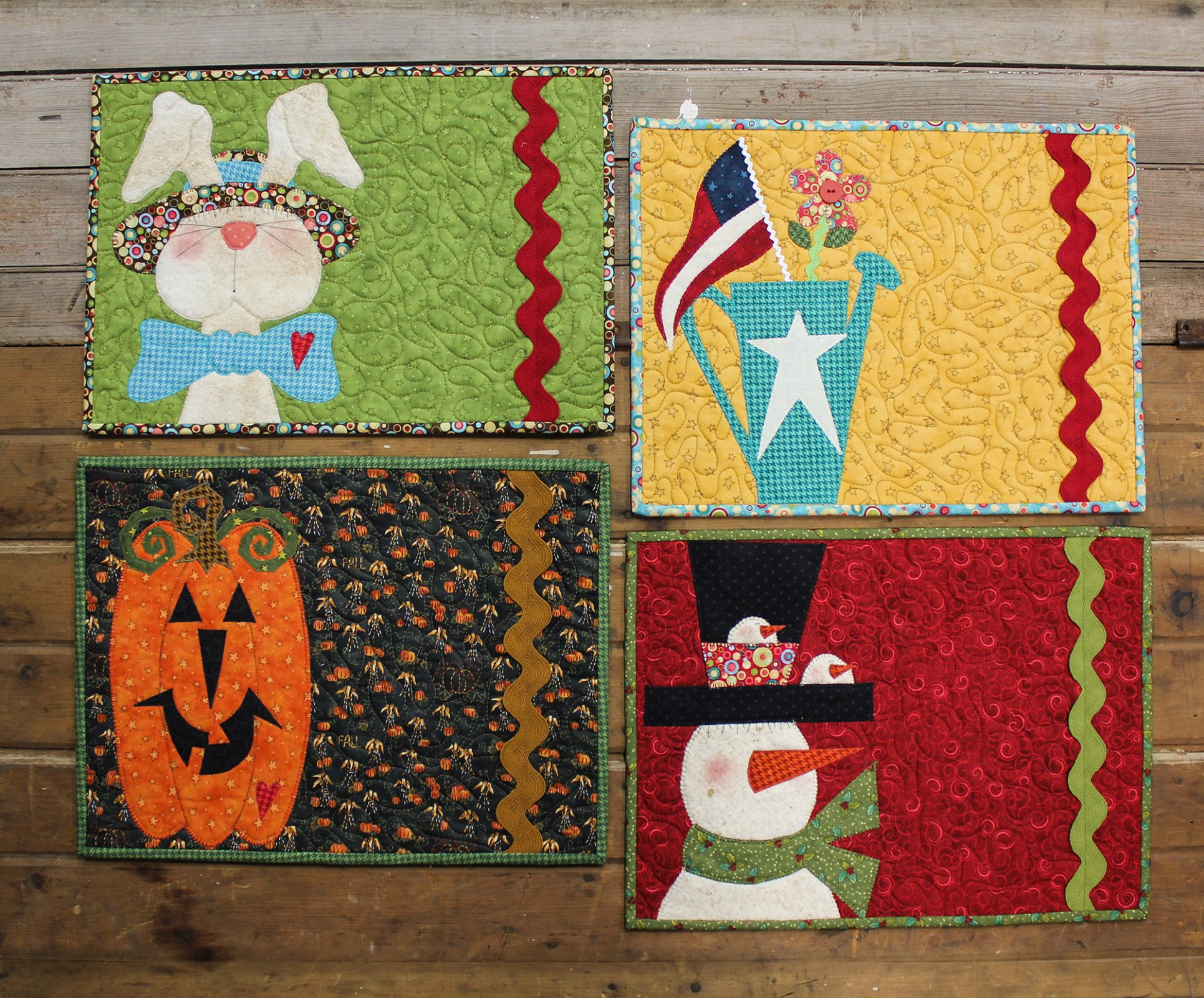 Seasonal Placemats