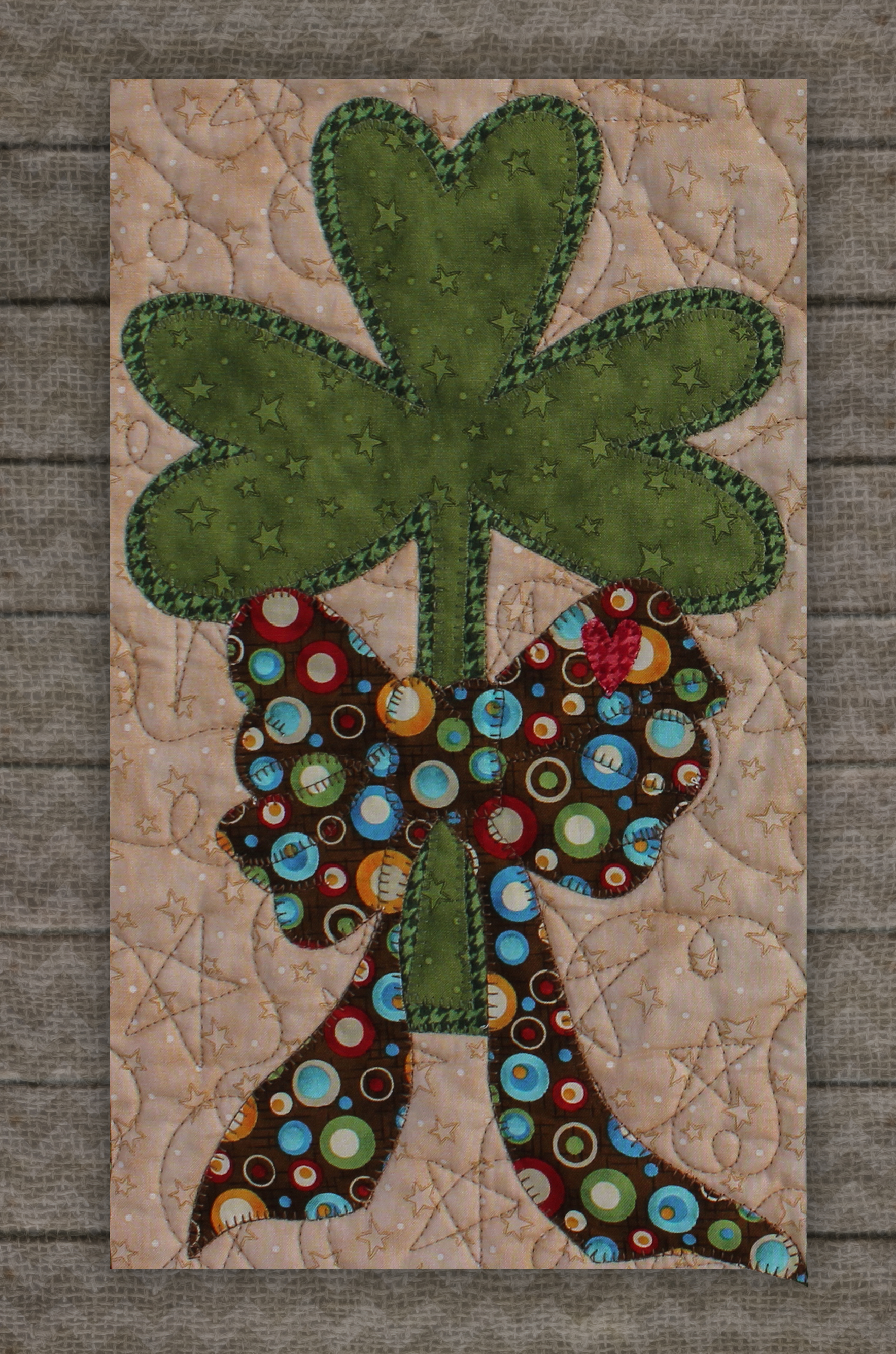Shamrock Precut Fused Applique Kit