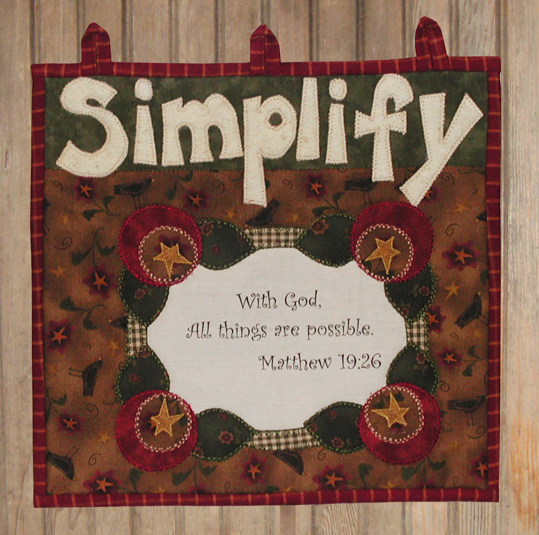 Simplify Button-On Kit