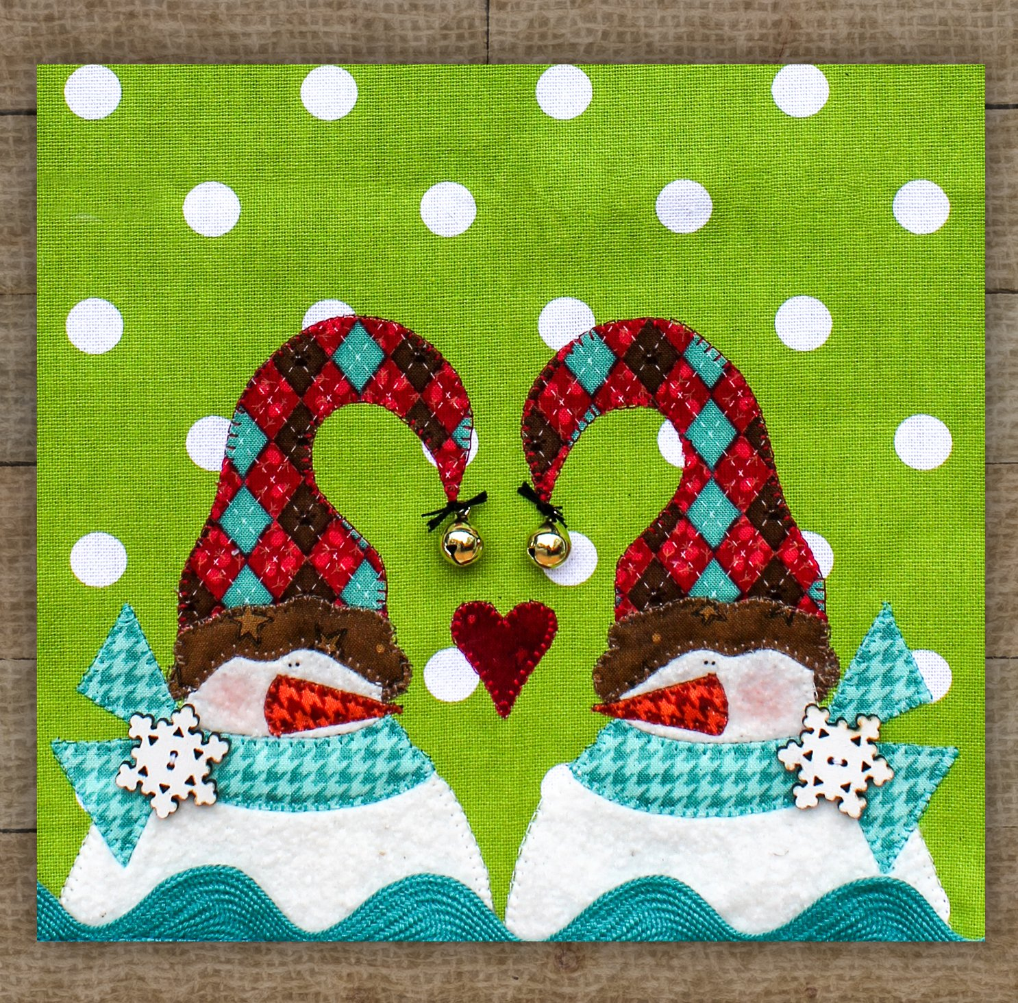 Snowflake Friends - Pattern