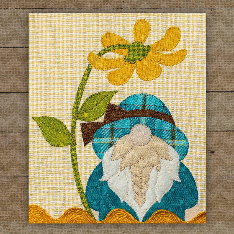 Spring Gnome Precut Fused Applique Pack