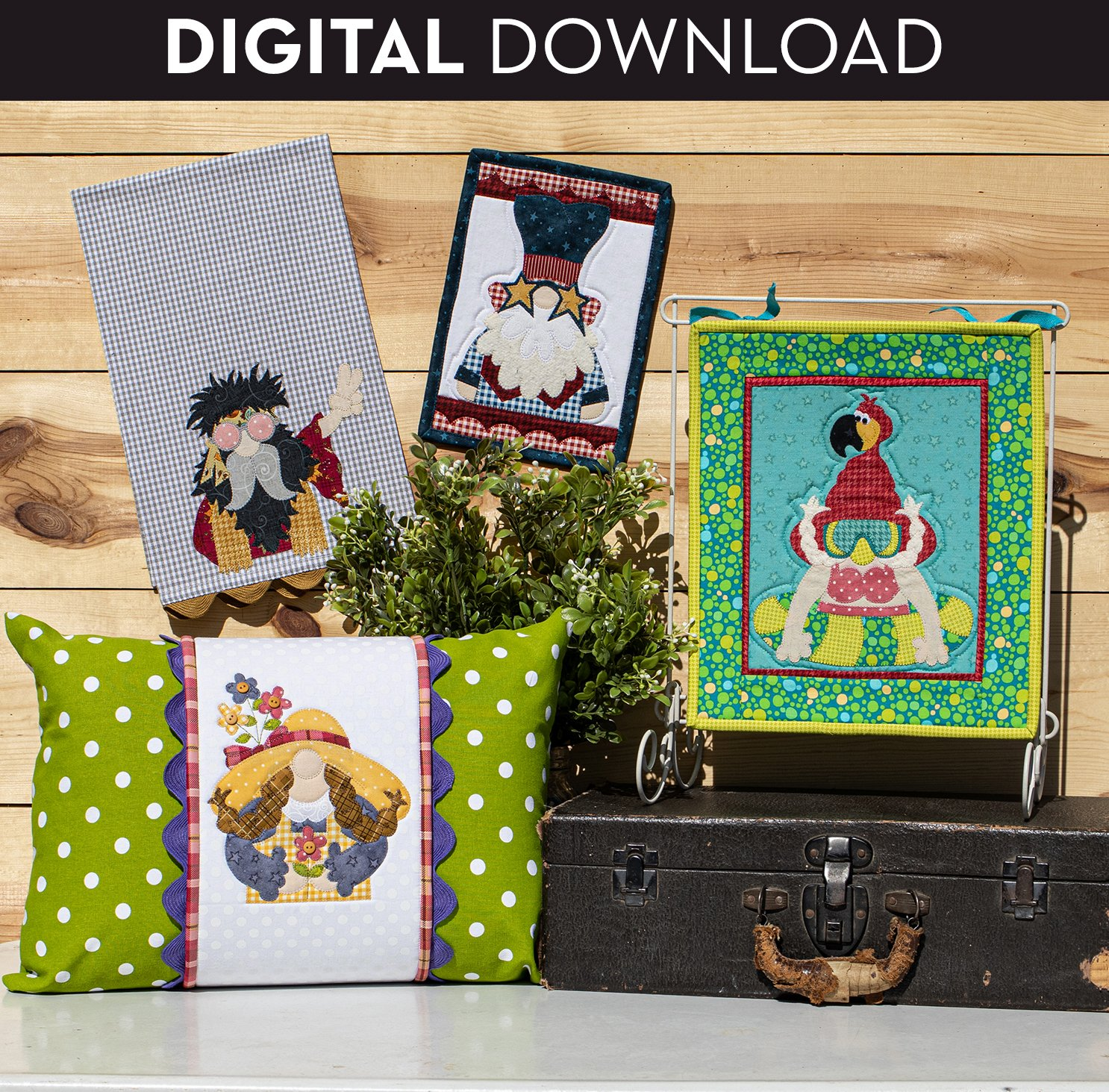 Summer Time Gnomes - Download